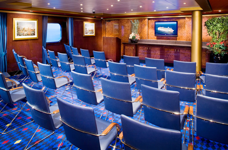 Conference Center on Norwegian Spirit