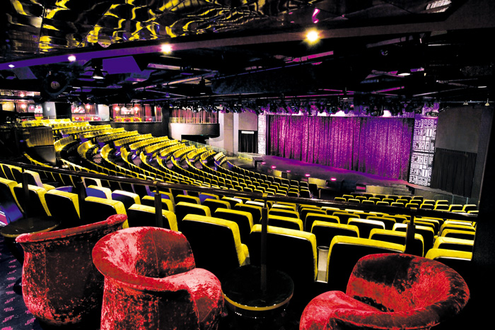 Epic Theatre on Norwegian Epic