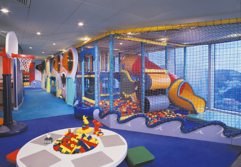 Child Care Center on Norwegian Spirit