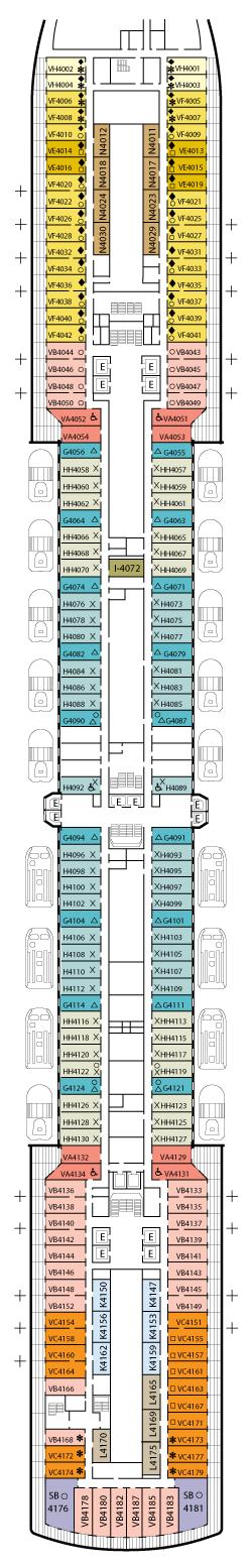 Eurodam Printable Deck Plan 28 Images Plans Panorama What S On