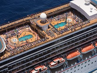 Avalon Main Pool on Carnival Legend