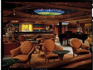 Shanghai Piano Bar on Carnival Spirit