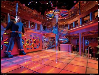 Dr. Frankenstein's Lab Dance Club on Carnival Miracle
