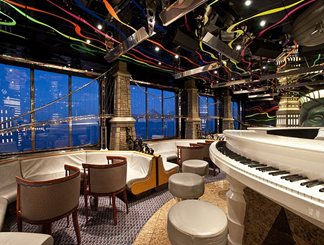 Duke's Piano Bar on Carnival Elation