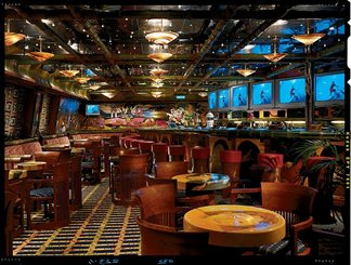Gauguin's Sports Bar on Carnival Conquest