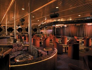 Starlight Aft Lounge on Carnival Ecstasy