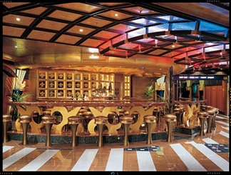 Jeanne's Wine Bar on Carnival Valor