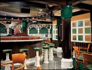 Irish Sea Piano Bar on Carnival Victory