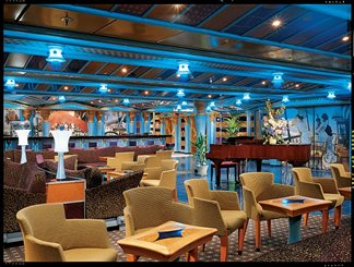 Gotham Lounge on Carnival Miracle