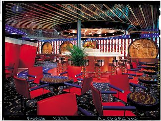 United States Bar on Carnival Paradise