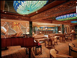 Fountain Cafe on Carnival Spirit