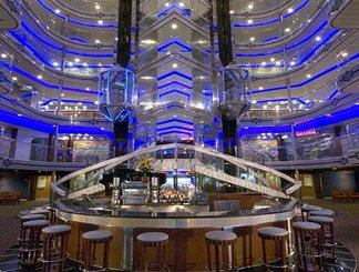 Grand Atrium on Disney Fantasy