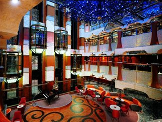 The Garden Atrium on Carnival Liberty