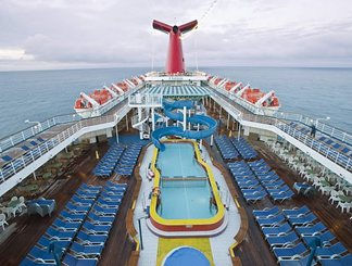 Pool on Carnival Valor