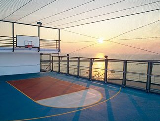 Sports Deck on Carnival Glory