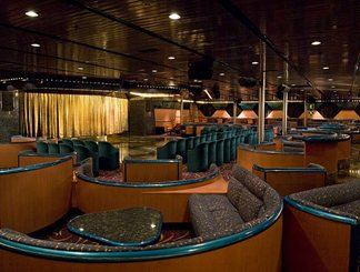 Plaza Aft Lounge on Carnival Sensation