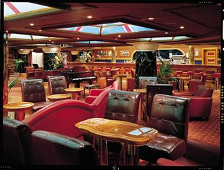 Winston's Cigar Bar on Carnival Valor