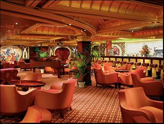 Ivory Club Cigar Bar on Carnival Glory