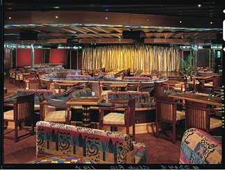 Club Rio Aft Lounge on Carnival Triumph