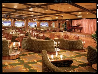 Versailles Lounge on Carnival Spirit