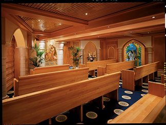 Wedding Chapel on Carnival Legend