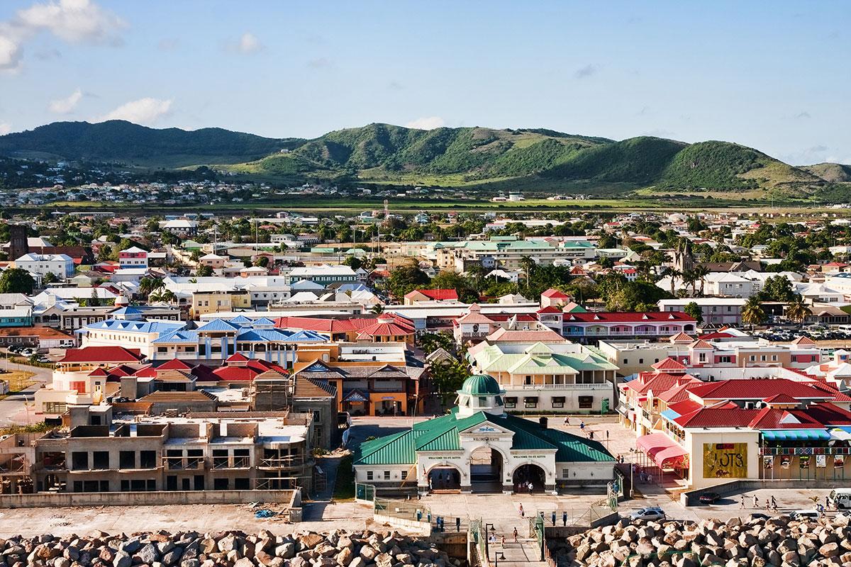Basseterre St Kitts Cruise Port