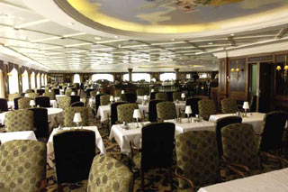 Discoveries Dining Room on Azamara Quest