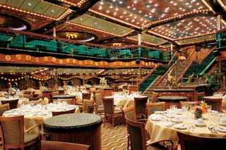London & Paris Dining Rooms on Carnival Triumph