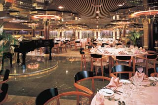 Imagination & Sensation Dining Rooms on Carnival Fascination