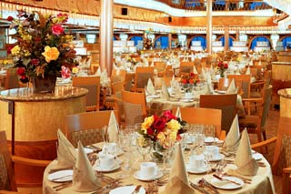 Normandie Restaurant on Carnival Pride