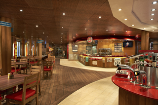 Guy's Burger Joint on Carnival Conquest
