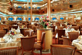 Truffles Restaurant on Carnival Legend