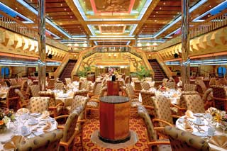 Golden & Platinum Restaurants on Carnival Glory