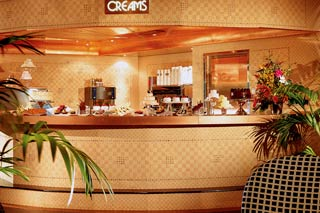 Creams on Carnival Glory