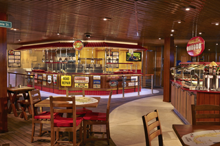 Guy's Burger Joint on Carnival Glory