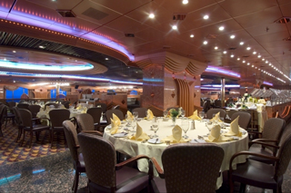 Carnivale & Mardi Gras Dining Rooms on Carnival Inspiration