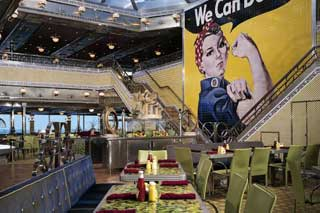Rosie's Restaurant on Carnival Valor