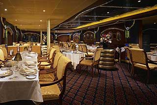 Harry's Steakhouse on Carnival Liberty