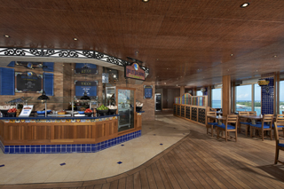 Blue Iguana Cantina on Carnival Liberty