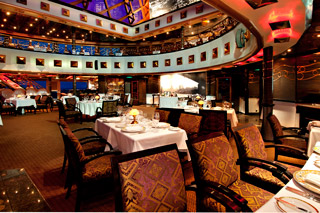 Nic & Nora's Steakhouse on Carnival Miracle