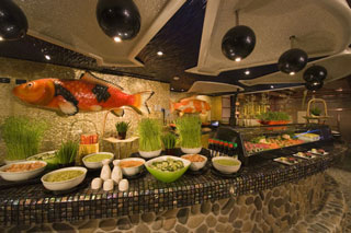 Wasabi Sushi Bar on Carnival Dream
