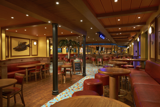 Red Frog Pub on Carnival Sunshine