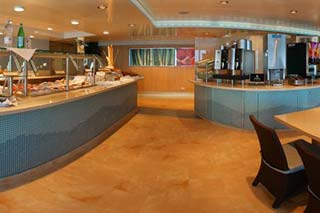 AquaSpa Cafe on Celebrity Century