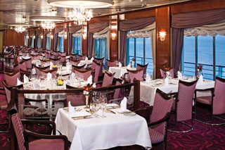 La Fontaine Dining Room on Prinsendam