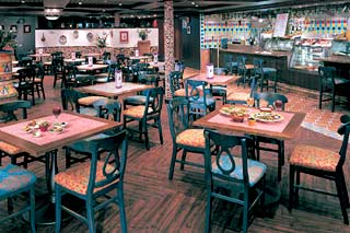 Las Ramblas Tapas Bar & Restaurant on Norwegian Sun