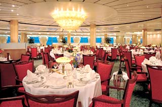 Four Seasons Main Restaurant on Norwegian Sun