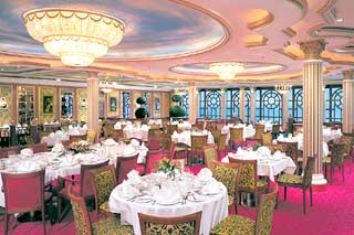 Versailles Main Dining Room on Norwegian Star
