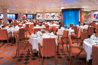 Aqua Main Dining Room on Norwegian Star