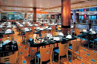 Ginza Asian Restaurant on Norwegian Star