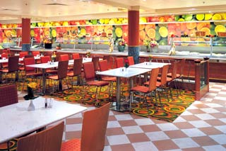 Market Café/Kid's Café on Norwegian Star